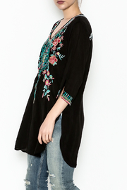 Johnny Was Zivelly Embroidered Tunic - Front cropped