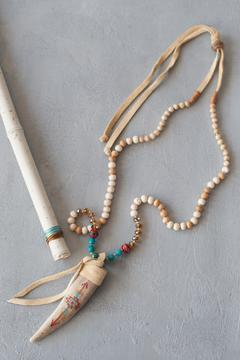 Shoptiques Product: Serape Antler Necklace