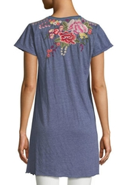 Johnny Was Adeline Embroidered Tunic - Front full body