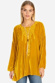 Johnny Was Antonette Velvet Tunic - Product Mini Image