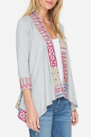 Johnny Was Arwen Embroidered Jacket - Front full body