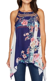 Johnny Was Athena Floral Top - Product Mini Image