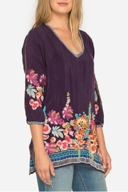 Johnny Was Berry Multi Tunic - Front cropped