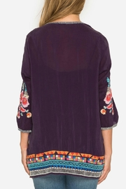 Johnny Was Berry Multi Tunic - Side cropped