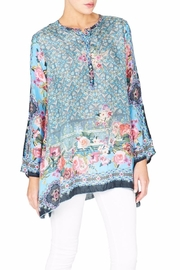 Johnny Was Besimo Silk Tunic - Front cropped