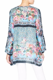 Johnny Was Besimo Silk Tunic - Front full body