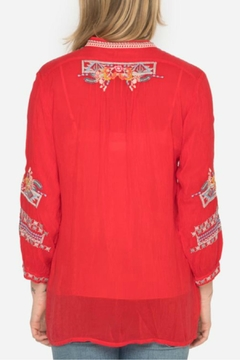 Johnny Was Bethanie Embroidered Tunic - Alternate List Image