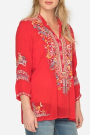 Johnny Was Bethanie Embroidered Tunic - Product Mini Image