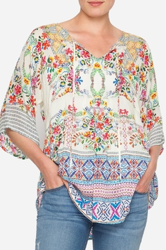 Shoptiques Product: Bias Flower Top