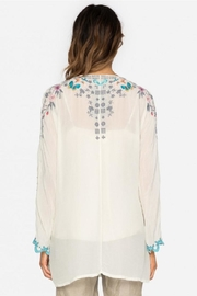 Johnny Was Butterfly Winter Blouse - Front full body