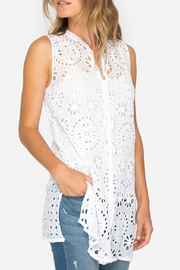 Johnny Was Camioni Eyelet Tunic - Product Mini Image