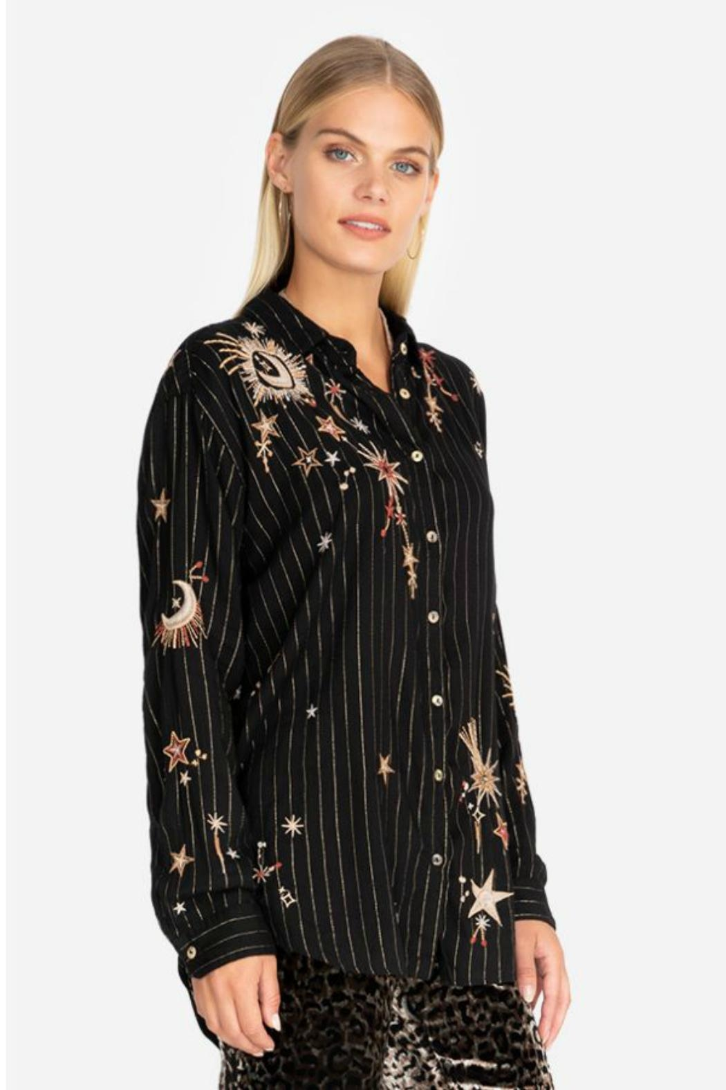 Johnny Was Celestial Print Tunic - Front Full Image