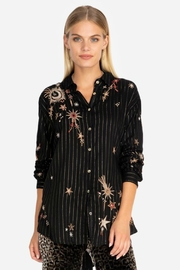 Johnny Was Celestial Print Tunic - Product Mini Image