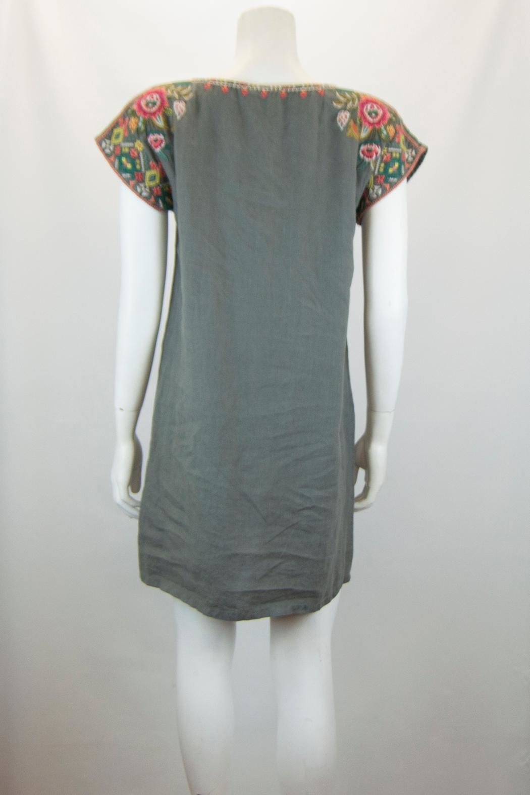 Johnny Was Chandra Shift Tunic Dress - Side Cropped Image