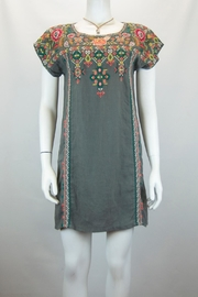 Johnny Was Chandra Shift Tunic Dress - Front cropped