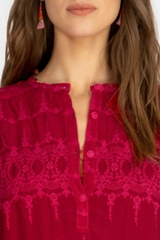 Johnny Was Cherry Mayu Tunic - Back cropped