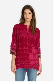 Johnny Was Cherry Mayu Tunic - Front cropped