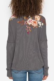 Johnny Was Chrys Embroidered Thermal - Back cropped
