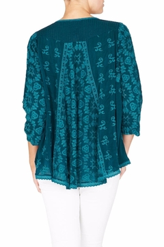 Johnny Was Cloudio Flare Blouse - Alternate List Image