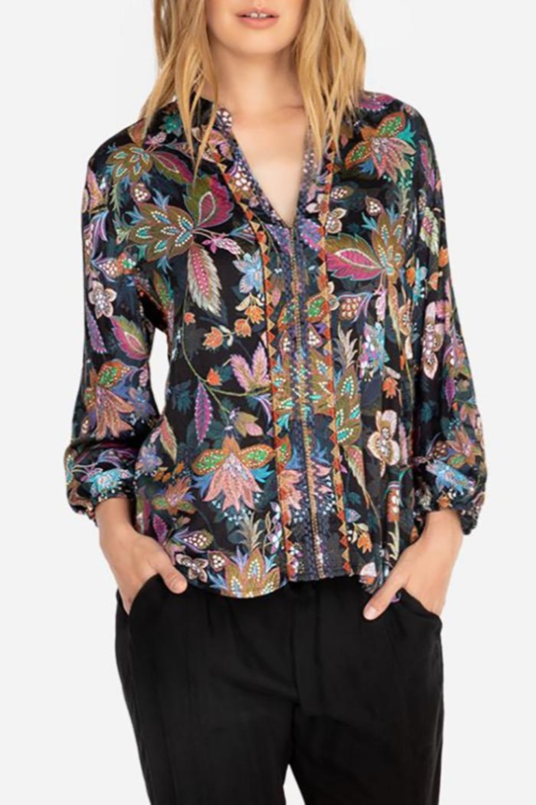 Johnny Was Effortless Swing Blouse - Main Image