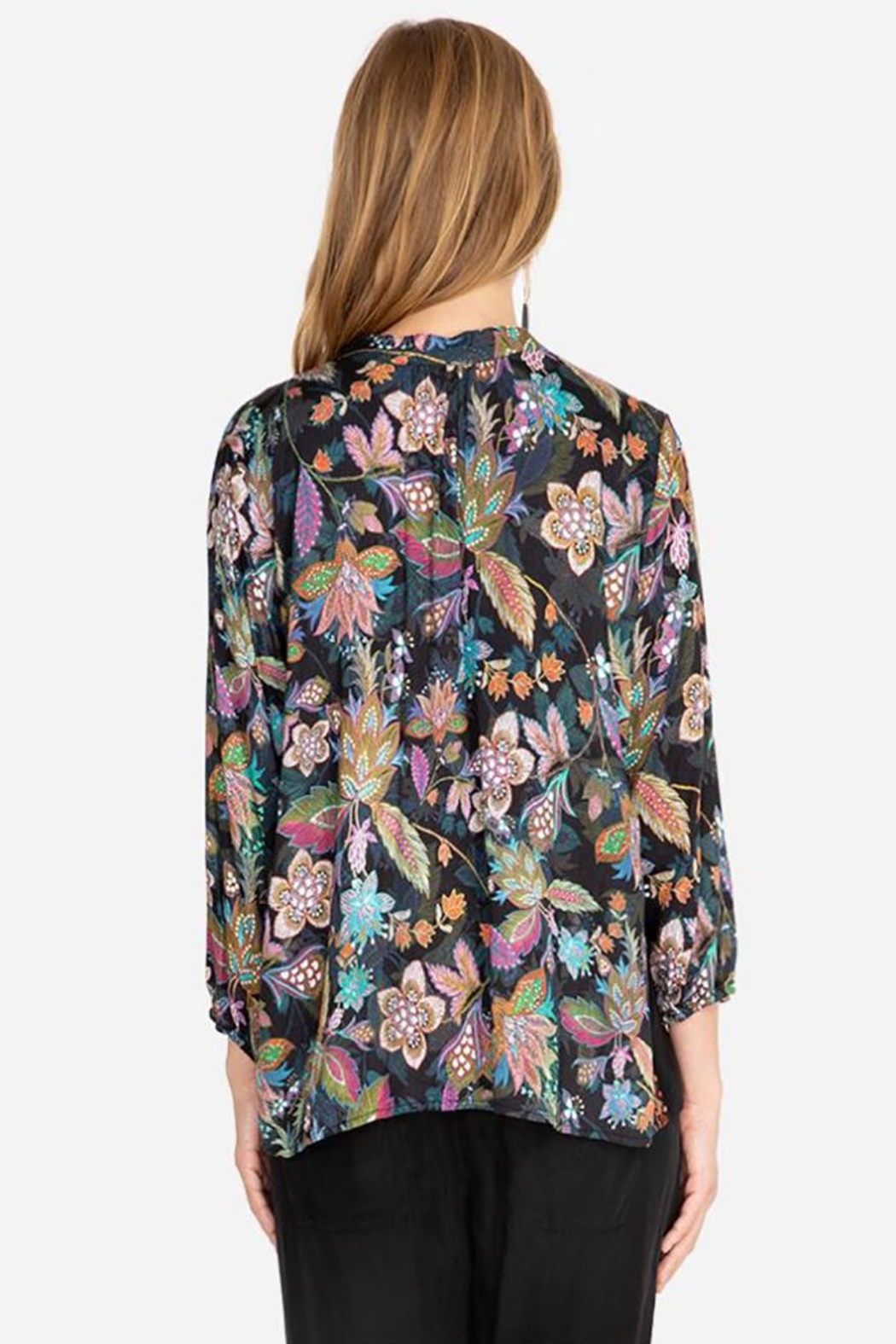 Johnny Was Effortless Swing Blouse - Front Full Image