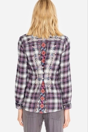 Johnny Was Ellie Button-Back Shirt - Front full body