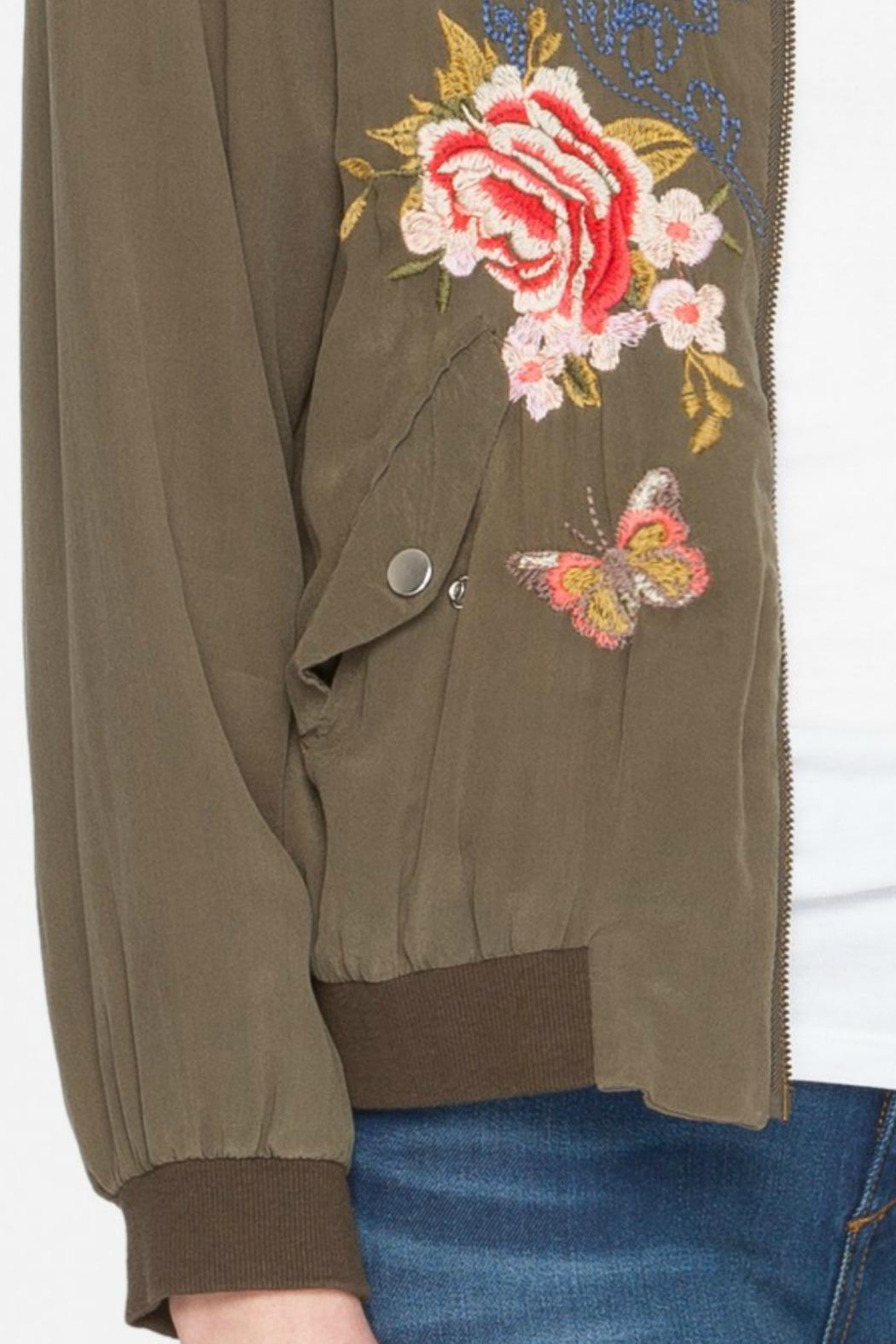 dcbc73fff Johnny Was Embroidered Bomber Jacket from New Jersey by Seagrass ...