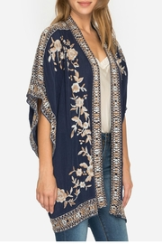 Johnny Was Embroidered Kimono - Front full body