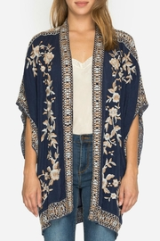 Johnny Was Embroidered Kimono - Product Mini Image