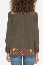 Johnny Was Embroidered Military Jacket - Back cropped