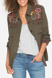 Johnny Was Embroidered Military Jacket - Front cropped
