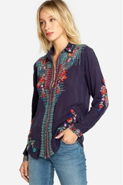 Johnny Was Embroidered Shirt - Product Mini Image
