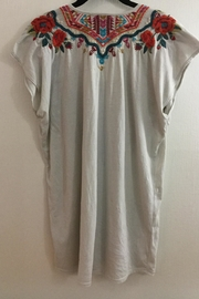 Johnny Was Embroidered Sleeveless Tee - Side cropped