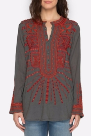 Johnny Was Embroidered Tunic Top - Product Mini Image