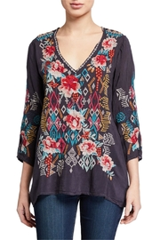 Johnny Was Emmaline Embroidered Blouse - Product Mini Image