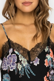Johnny Was Floral Lace Cami - Front full body