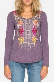 Johnny Was Flores Long Sleeve Tee - Front cropped