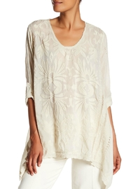Johnny Was Flowery Tunic - Front cropped