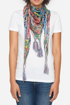 Johnny Was Classy Frame Silk Scarf - Product List Image
