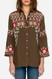 Johnny Was Freddie Embroidered Shirt - Front full body