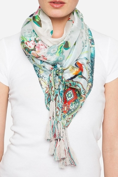 Johnny Was Light Frica Silk Scarf - Product List Image