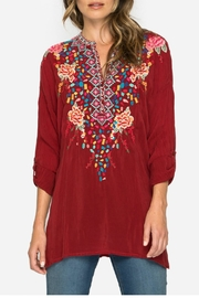 Johnny Was Gemstone Tunic Top - Front cropped