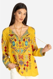 Johnny Was Golden Road Blouse - Product Mini Image