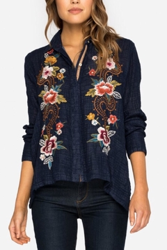 Johnny Was Handkerchief Bolero Shirt - Product List Image