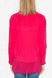 Johnny Was Hummingbird Tunic Top - Back cropped