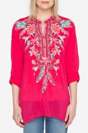 Johnny Was Hummingbird Tunic Top - Front cropped