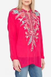 Johnny Was Hummingbird Tunic Top - Side cropped