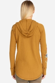 Johnny Was Isla Hooded Thermal - Front full body