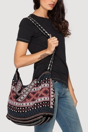 Johnny Was Izzy Velvet Tote - Front cropped