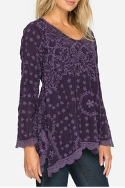 Johnny Was Jossimar Flowy Tunic - Front cropped